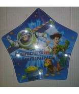 Zak! Toy Story 'Heroes In Training' Plastic Star Shaped Plate - $8.90