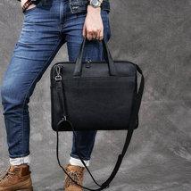Sale, Full Grain Leather Men Briefcase, Tote, Messenger Bag, Laptop Bag, Shoulde image 2