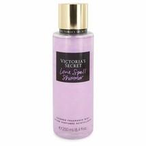 Victoria's Secret Love Spell Shimmer Fragrance Mist Spray 8.4 Oz For Women  - $25.63