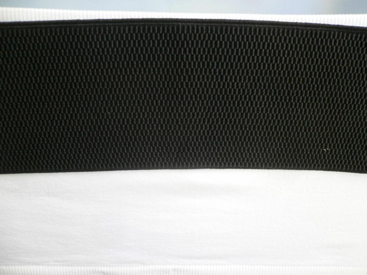 Cinturón para Dama Moda Hip Cintura Elástico Negro Ancho Imitación Piel de image 10