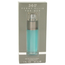 perry ellis 360 by Perry Ellis 1 oz EDT Cologne Spray for Men New in Box - $20.11