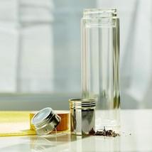 Basule Reusable Tea Infuser Bottle Glass Strainer Loose Leaf  Food Grade... - $39.59