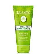 Wellness Organic Hemp Seed Oil Cold Pressed INTENSIVE HYDRATING CREAM 6.... - $24.95
