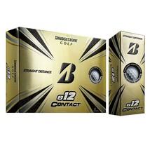 Bridgestone Golf e12 Contact White Golf Ball, Dozen - $48.50