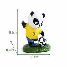 Panda Playing Football Mini Panda Puppet Home Decoration Kids' Gift(Brazil)