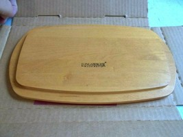 Longaberger Beautiful Small Chore Woodcrafts Lid - NEW in Box! - Item # 50431 - $19.34