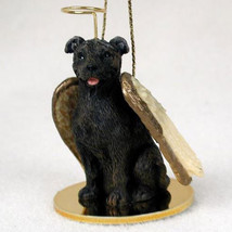 STAFFORDSHIRE BULL TERRIER BRINDLE ANGEL DOG CHRISTMAS ORNAMENT HOLIDAY ... - $12.38