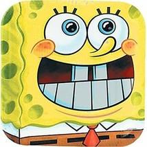Spongebob Dinner Plate 8ct Birthday Party Supplies Plates - $5.20