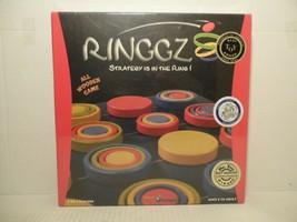 NEW FACTORY SEALED RINGGZ ALL WOODEN STRATEGY IS IN THE RING GAME BOARD ... - $38.50