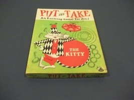 Vintage Put And Take Game By W.H. Schaper Mfg. Co. Inc. From 1956 Comple... - $9.89