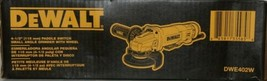 DeWalt DWE402W 4 1/2 inch Paddle Switch Small Angle Grinder with Wheel Corded image 2