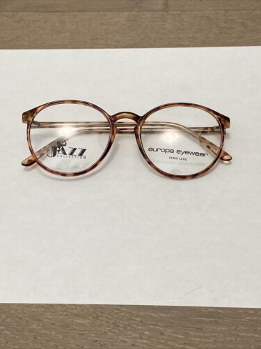 Primary image for VTG New Jazz Collection Tortoise Plastic Frame Rx Eyeglass Frames 54-19-140