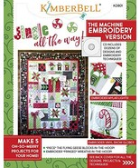 KIMBERBELL Jingle All The Way! Machine Embroidery CD & Sewing Book KD801 - $46.30