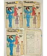 Vintage Butterick Sewing Pattern 4657 Womens A-Line Dress Top Skirt Pant... - $7.88