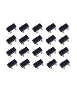 20 Pcs Pack Lot SOT-23 Triode Transistor SMD MOSFET 2N7002 2N7002LT1G N-... - $9.71