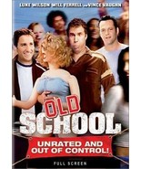 Old School (DVD, 2003, Full Frame Unrated and Out of Control Edition) - €8,86 EUR