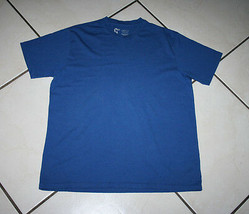 Youth Short Sleeve T-shirt Size L Athletic Fit Blue Gap - 100% Cotton RN# 5403 - $6.99