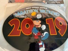 New 2019 runDisney Marathon Weekend Car Magnet Walt Disney World Mickey Lg Oval - $7.69