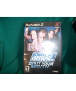 Playstation 2 game WW Smack Down-Shut Your Mouth (THQ) Teen rated - $5.00
