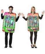 Rasta Imposta Candy Crush Game Board Tunic Halloween Costume One Size 3945 - £29.63 GBP