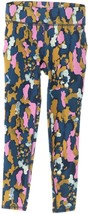 Susan Lucci Collection Cropped Printed Leggings Orchid Camo XXXS NEW A30... - $13.83