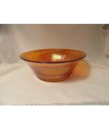 Iridescent Footed Center Bowl Depression Glass Era - $9.99