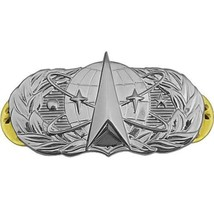 USAF Air Force Badge Space and Missile Regulation Size (Made in USA) - $12.86