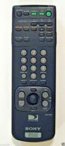 Sony RM-Y800 Satellite Receiver Remote Control, Original Genuine SONY Part - $2.96