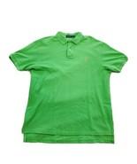 POLO RAPLH LAUREN Mens Polo Golf Shirt Classic Fit XL Green Short Sleeve - $15.83