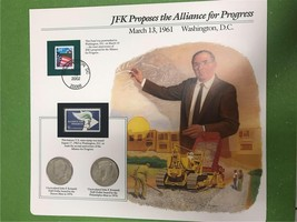 JFK Proposes the Alliance for Progress March 13,1961 Collector Page - $8.53