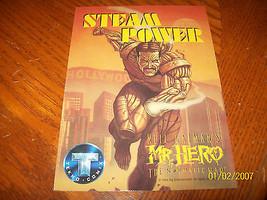 NEIL GAIMAN'S MR. HERO THE NEWMATIC MAN PROMO SHEET - $6.00