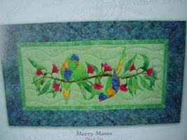 "Quilt Pattern ""Merry Mates"" 32"" x 18""  - $3.99"