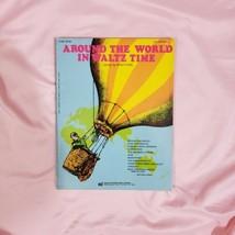 Around The World In Waltz Time Organ Music Book Vintage - $12.59