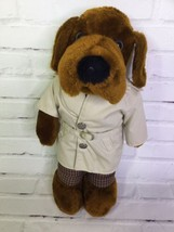Dakin McGruff Dog Plush Stuffed Animal Toy Take A Bite Out Of Crime Vint... - $18.69