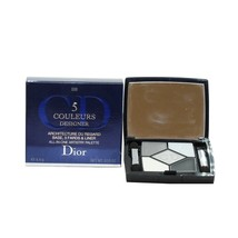 DIOR 5 COULEURS DESIGNER ALL-IN-ONE ARTISTRAY PALETTE 4.4G #008 SMOKY DE... - $55.44