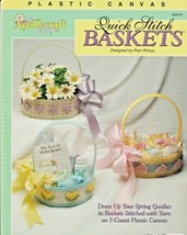 "The Needlecraft Shop ""Quick Stitch Baskets"" Plastic Canvas - Gently Used - $5.50"