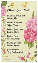 Mom Gifts for Christmas Mom's Love is Endless Mom Poem Decorative Poetry... - $10.30