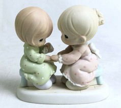 Enesco Precious Moments Figure Always There For Me 163635 Samuel J Butcher 1996 - $7.83