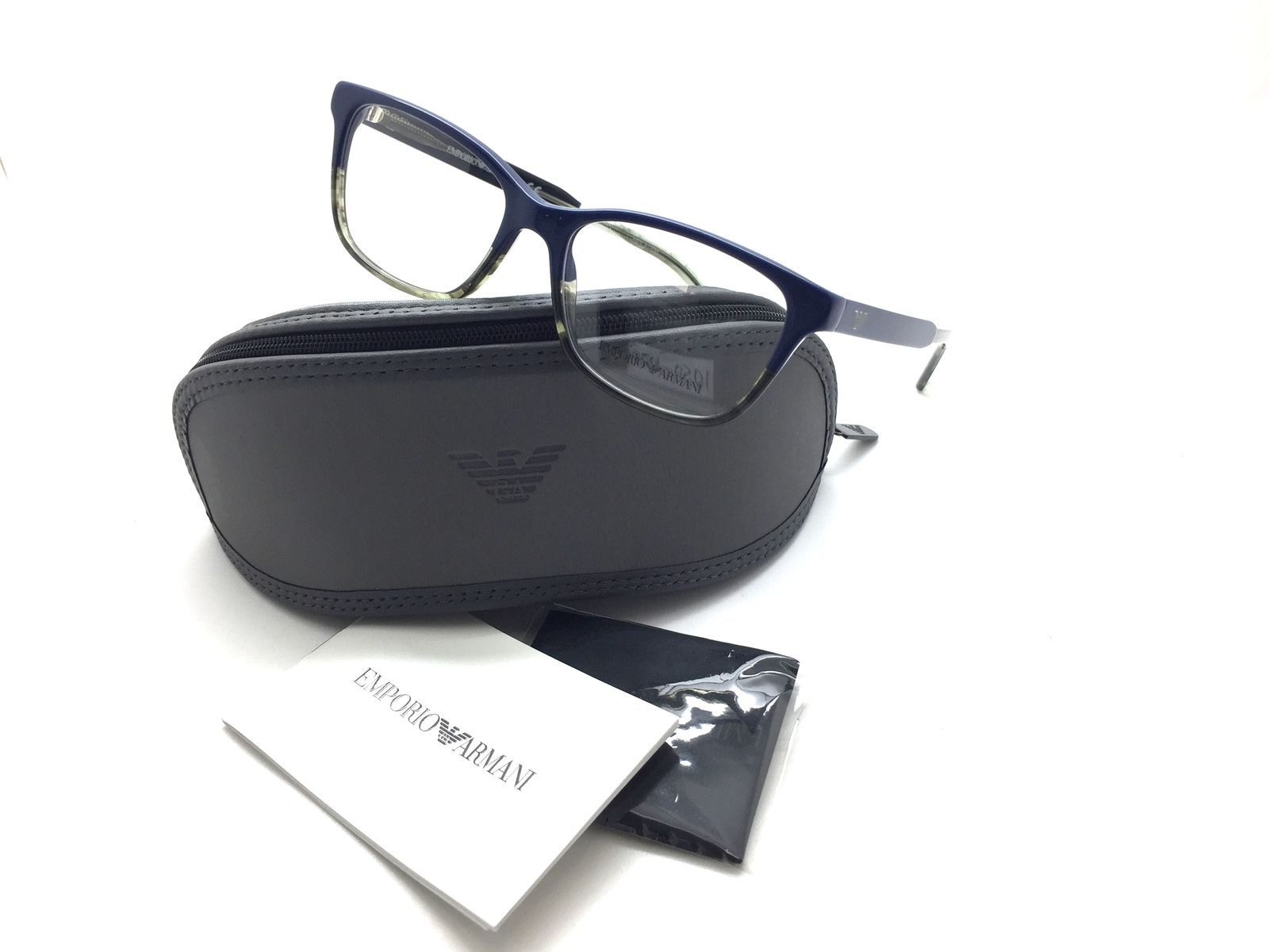 2e4de3729b68 Eyeglasses women Blue grey EMPORIO ARMANI and 50 similar items