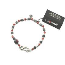 Bracelet en Argent 925 Rubis Zoïsite Corail BPAN-13 Fabriqué Italie By M... - $106.20