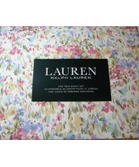 Ralph Lauren Watercolor Abstract Floral Sheet Set Twin - $69.00