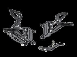 Bonamici Aluminum Adjustable 03 - 05 Yamaha R6 Rearsets Reat sets - $459.99