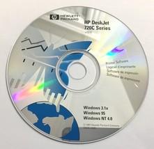 HP DeskJet 720C Series CD-ROM Windows 3.1X, 95, NT 4.0 -1997  C5870-10081 - $13.54