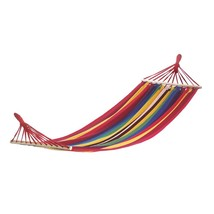 Single Hammock Bed, Portable Equip Travel Hammock, Cotton - $38.99