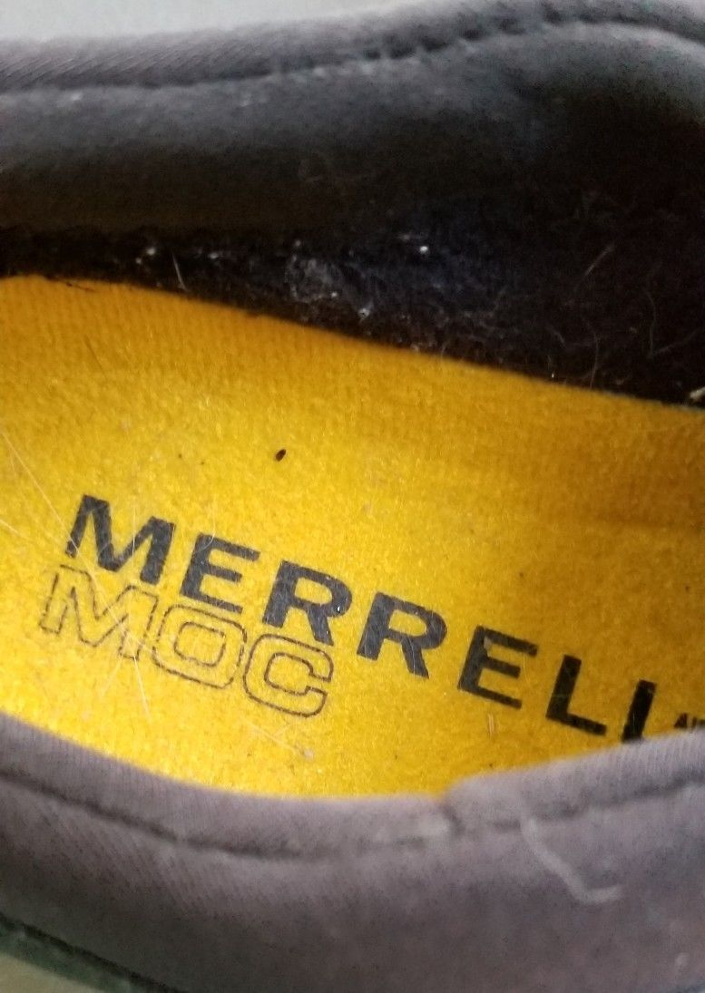 MERRELL Satellite Moc  Size 7.5  SUEDE Shoes Hiking