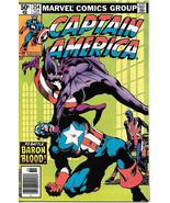 Captain America Comic Book #254, Marvel Comics 1981 VERY FINE/NEAR MINT - $17.34