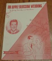 Vintage Sheet Music - An Apple Blossom Wedding - 1947 Edition - VGC - J.... - $5.93