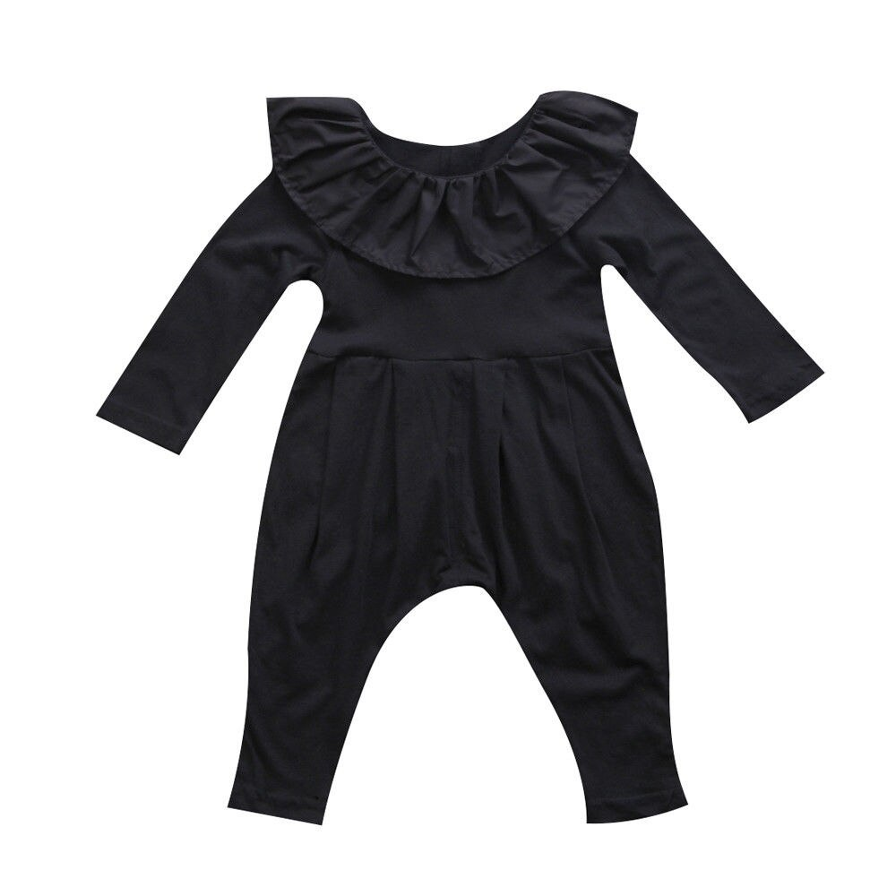 Primary image for Pudcoco Adorable Newborn Baby Girls Ruffle Long Sleeve Romper New Fashion Autumn