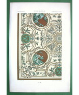 PARIS Ceiling in Residence of Princess de Conti - COLOR Litho Print by R... - $16.87