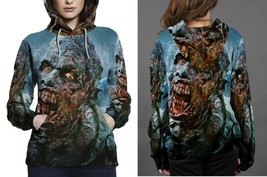 Hoodie women Zombie The Walking Dead - $41.70+